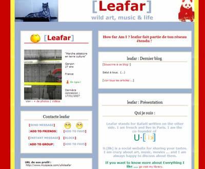 Leafarmyspace